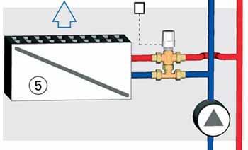 Fan-Coil 2 csöves rendszer